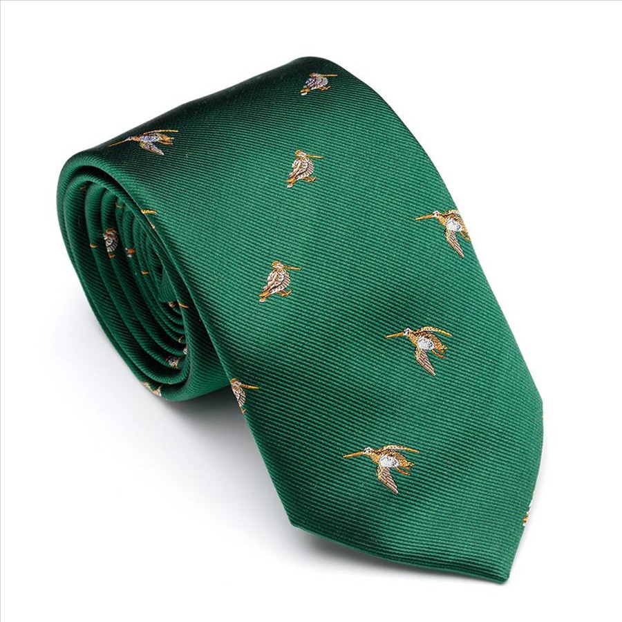 Laksen Woodcock Tie British Racing Green