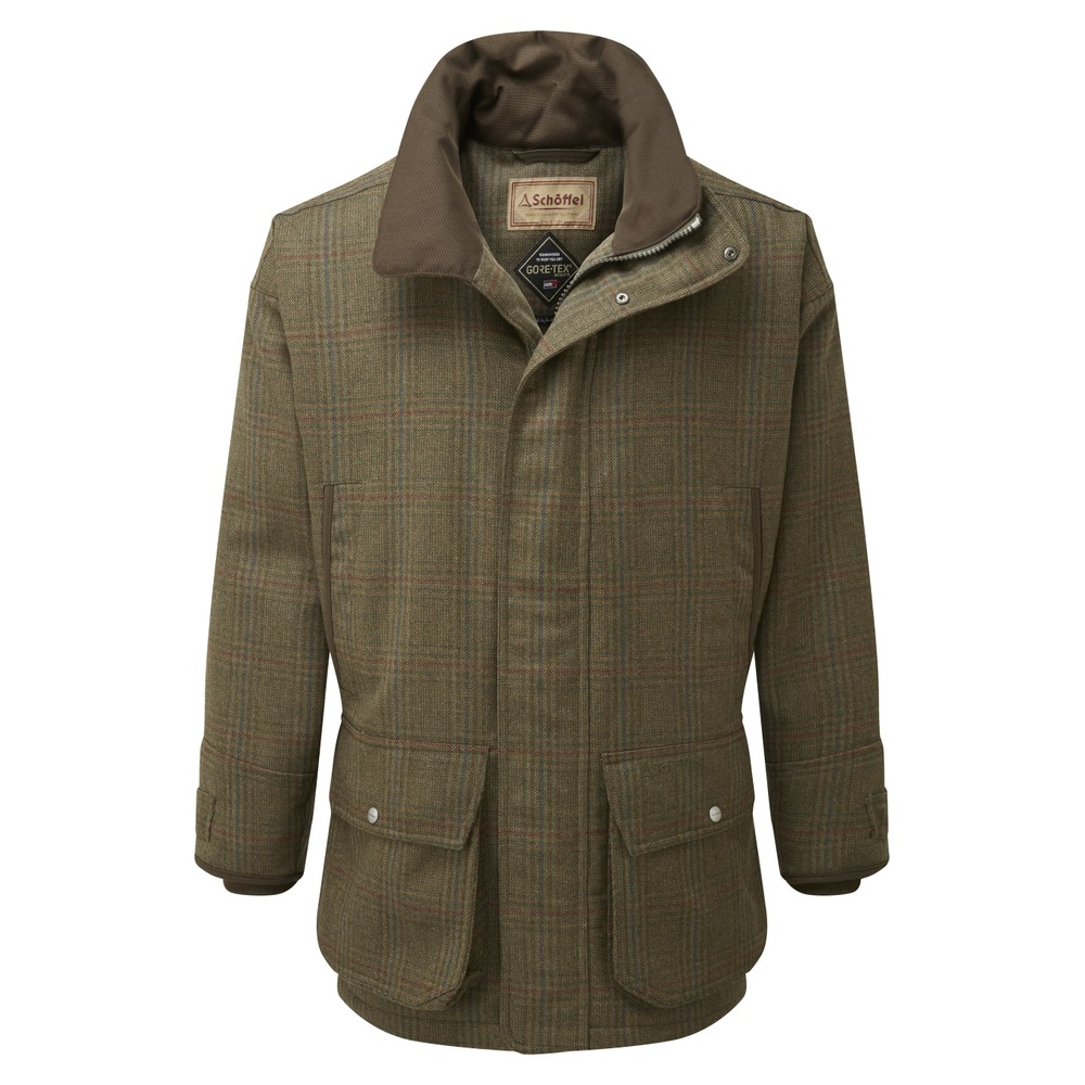 Schoffel Ptarmigan Tweed Shooting Coat