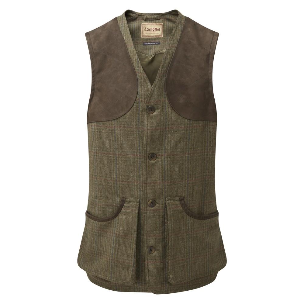Schoffel Ptarmigan Tweed Waistcoat II