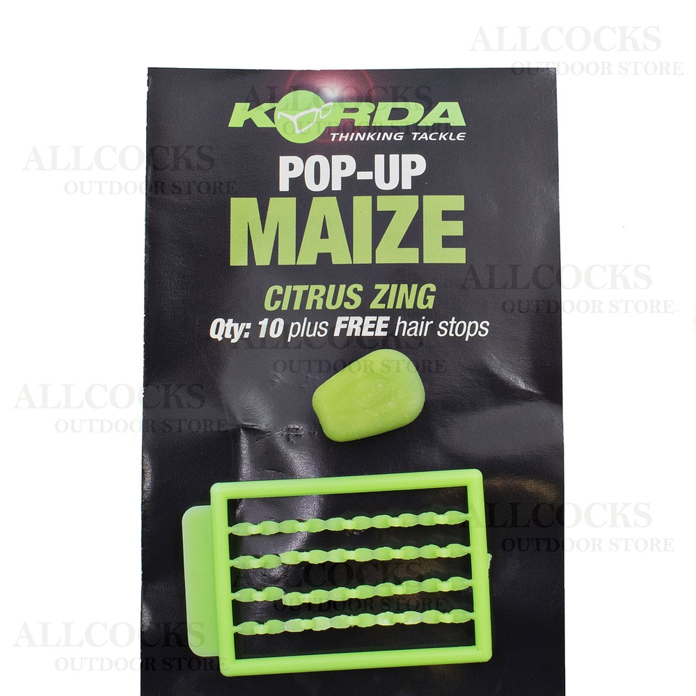 Korda Korda Pop Up Maize in Citrus Zing
