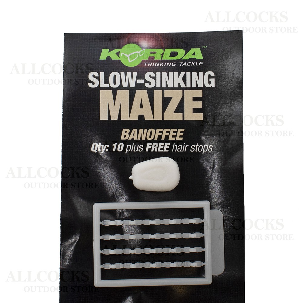 Korda Slow Sinking Maize Banoffee