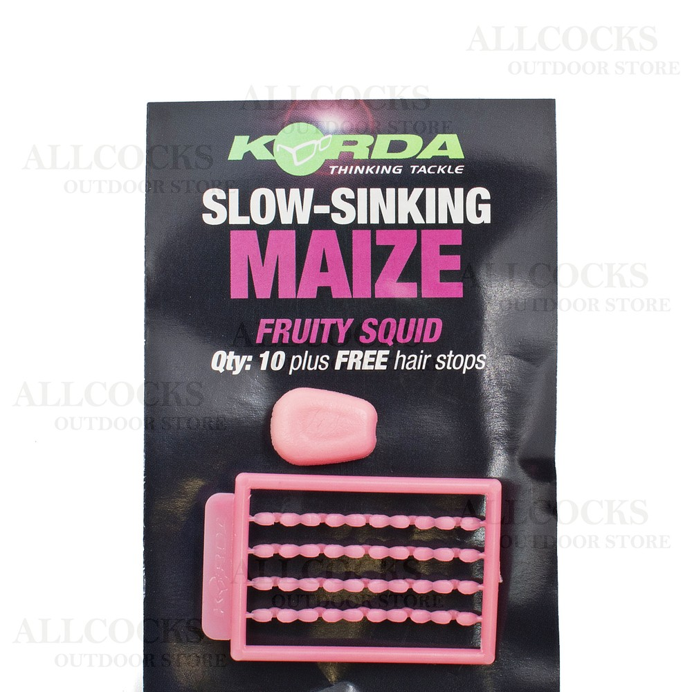 Korda Korda Slow Sinking Maize in Fruity Squid