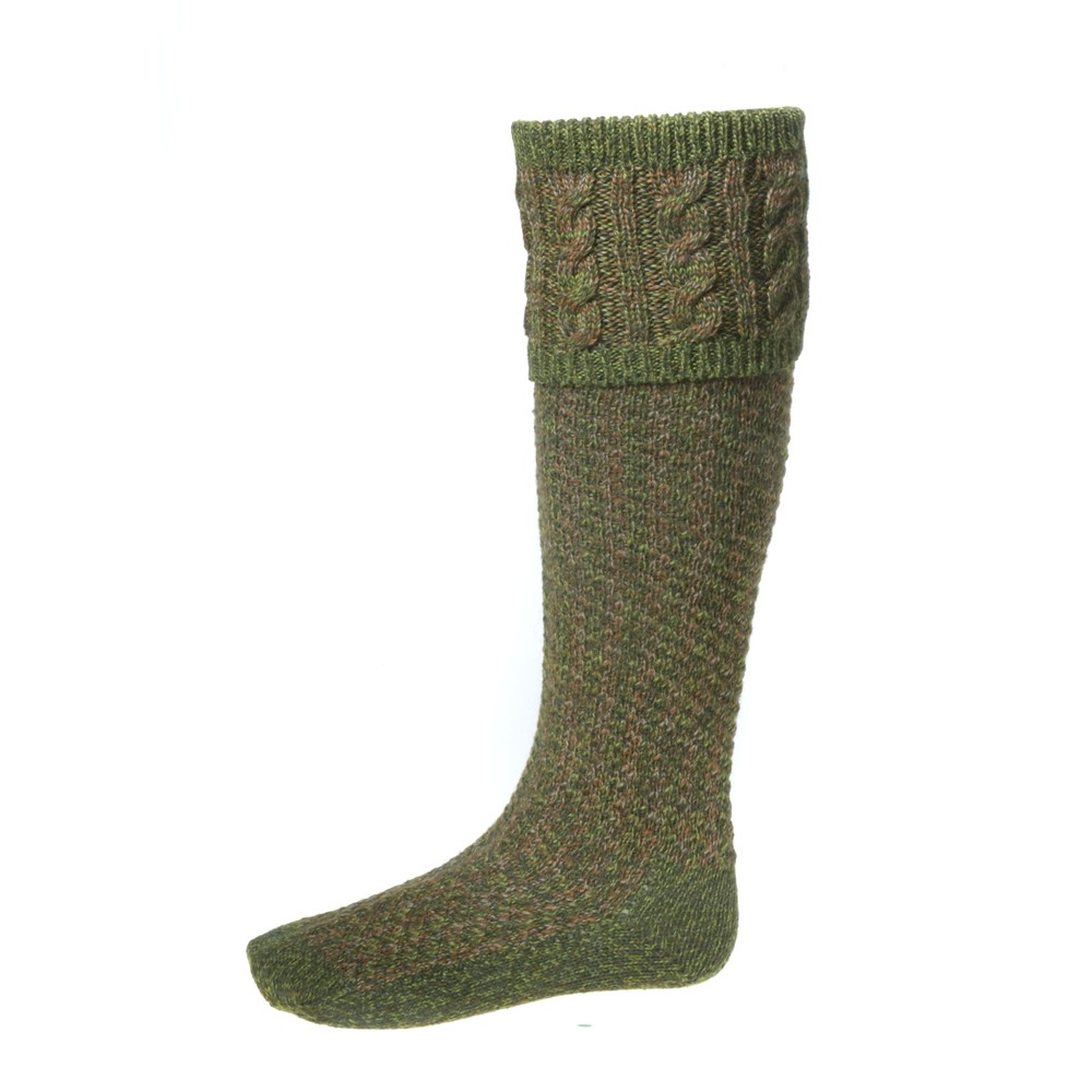 House of Cheviot House Of Cheviot Reiver Sock with Garters - Scotspine