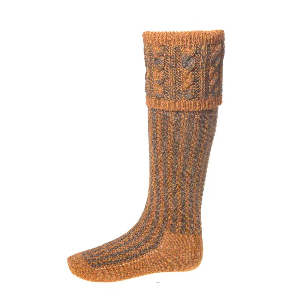 House of Cheviot Reiver Sock with Garters - Wildbroom Wildbroom