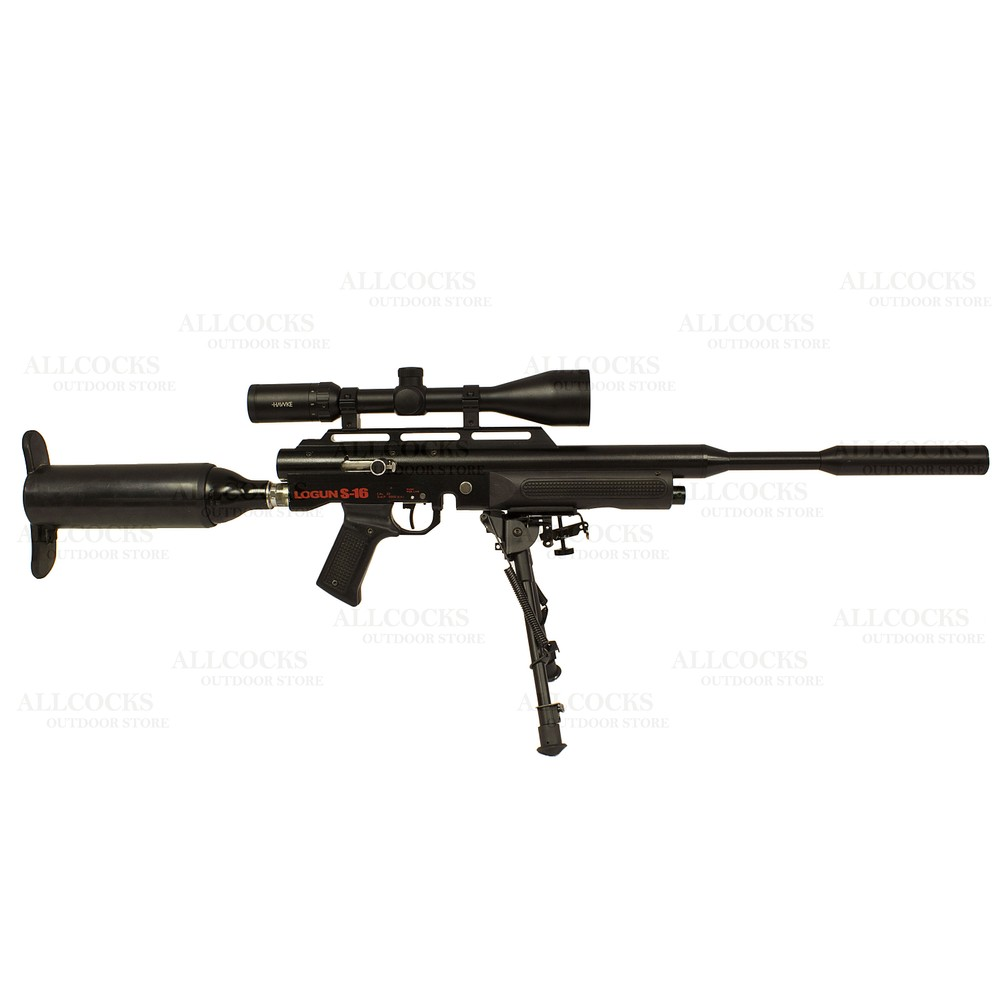Logun Pre-Owned  S-16 Air Rifle - .22
