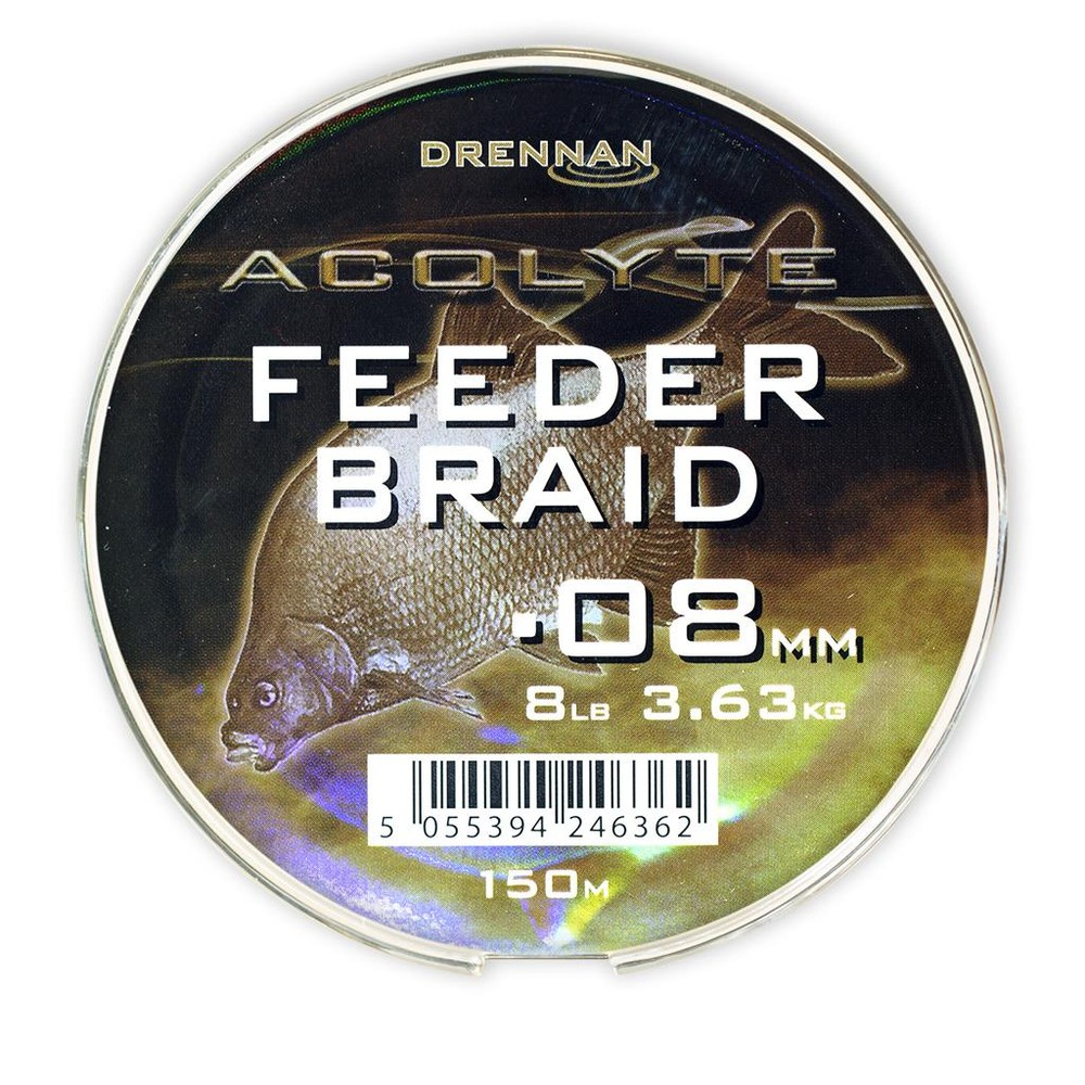 Drennan Acolyte Feeder Braid Olive