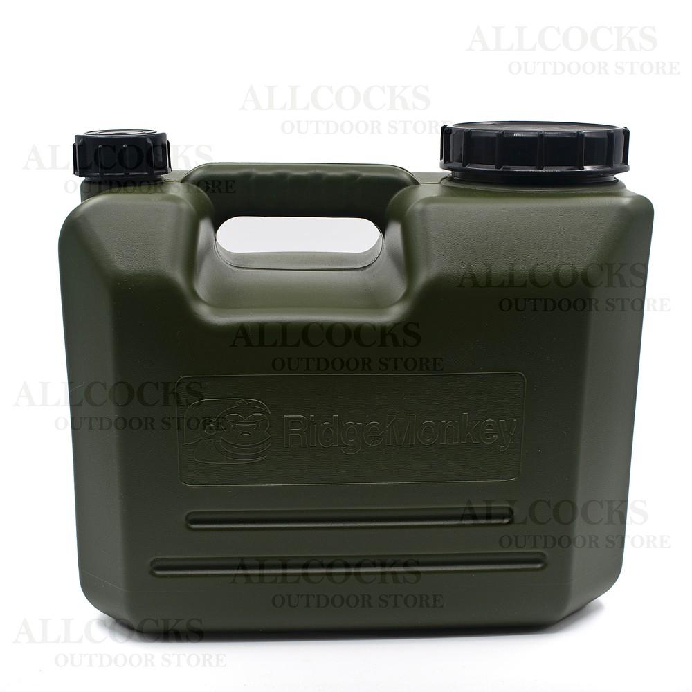 RidgeMonkey Heavy Duty Water Carrier - 10 Litre Green