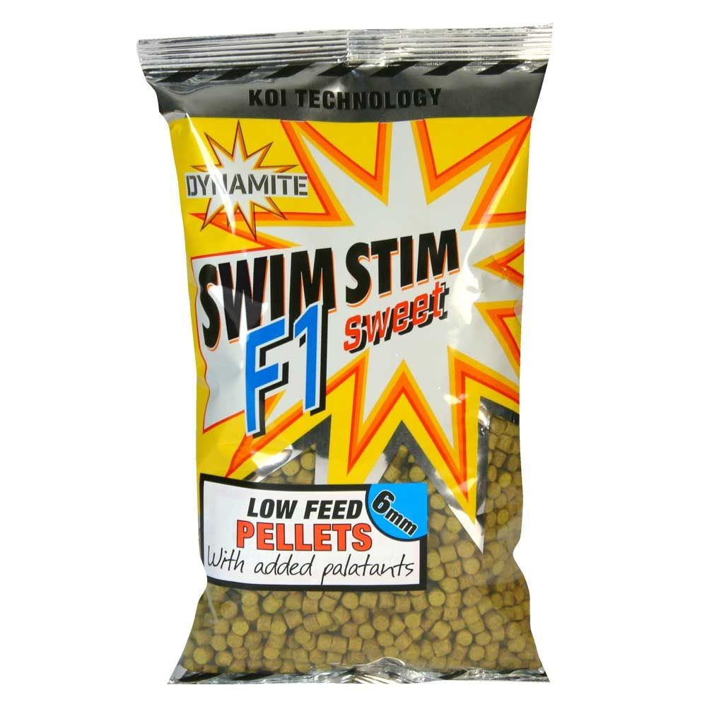 Dynamite Baits Swim Stim Pellets - F1 Sweet Brown