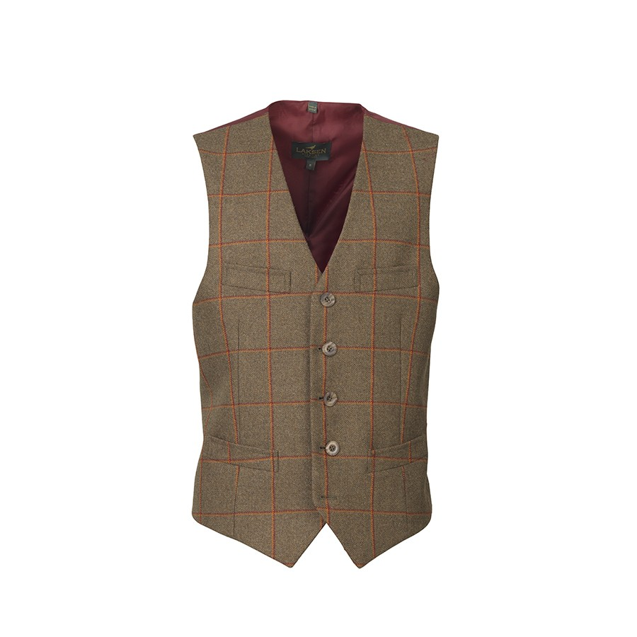 Laksen Laksen Colonial Tweed Dress Vest