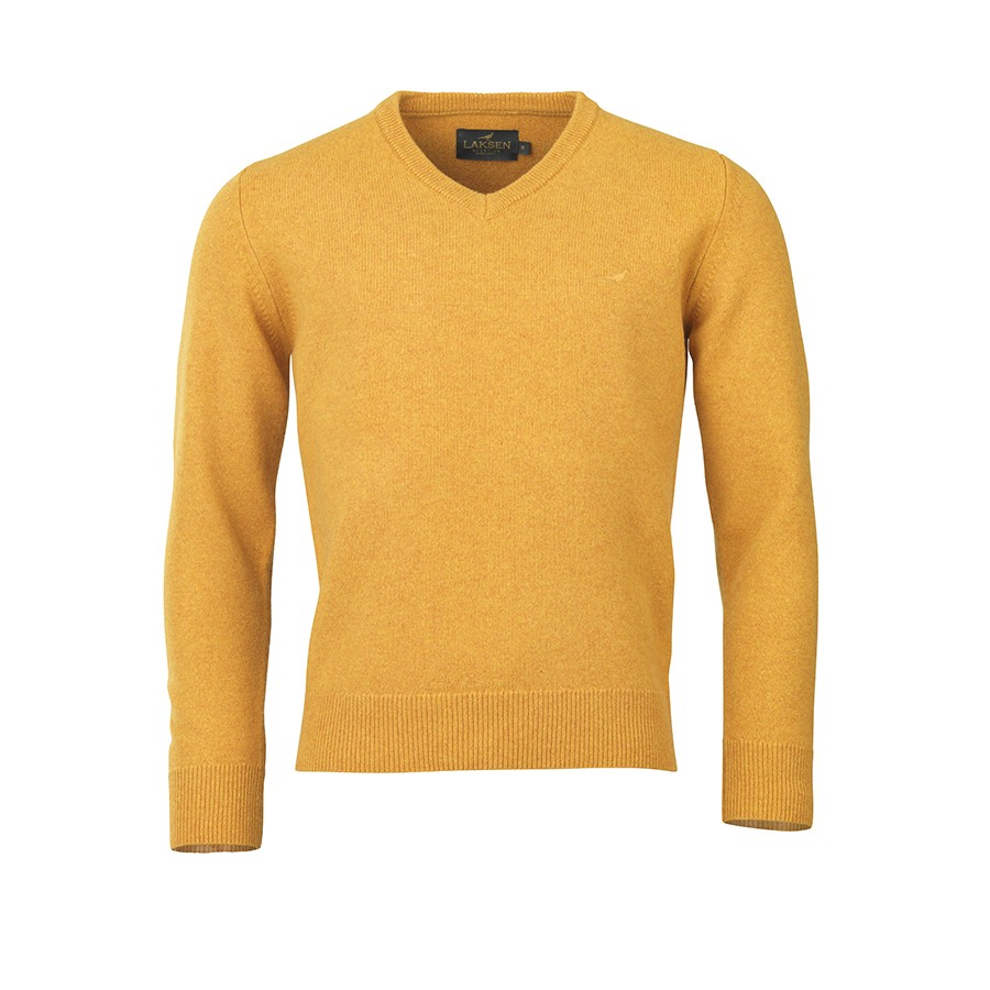 Laksen Johnston Lambswool V-Neck - Gorsy