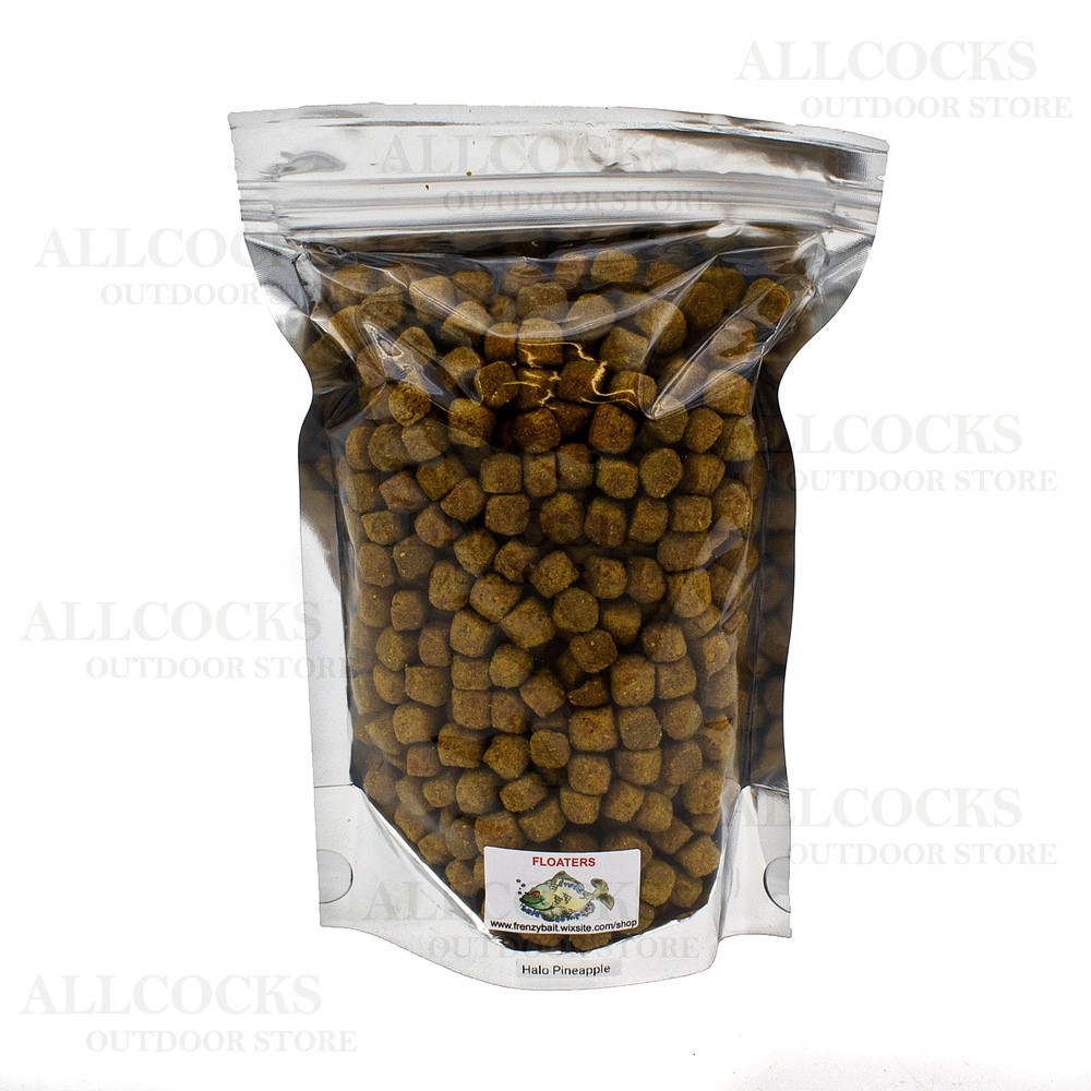 Frenzy Bait Company Halo Floating Pellets Maple