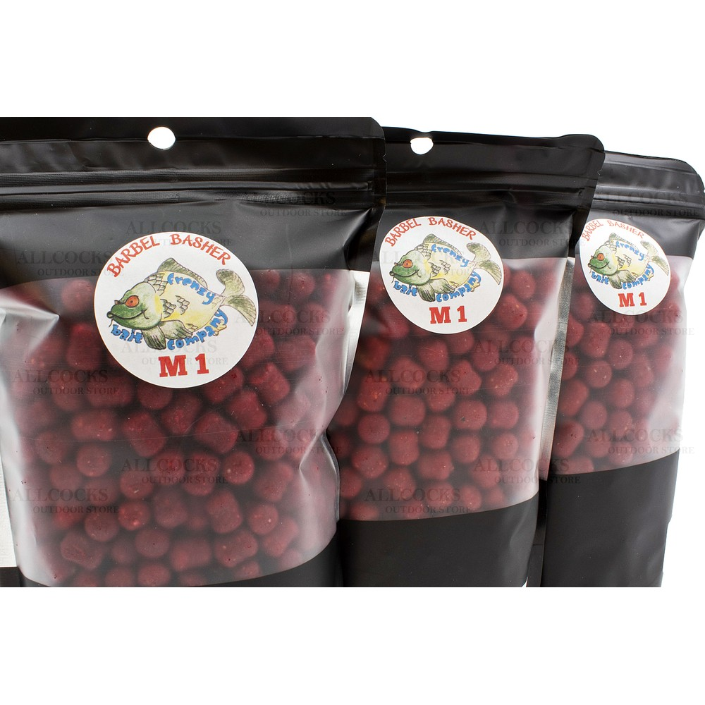 Frenzy Bait Company Dumbell Pellets - M1 Flavour Red