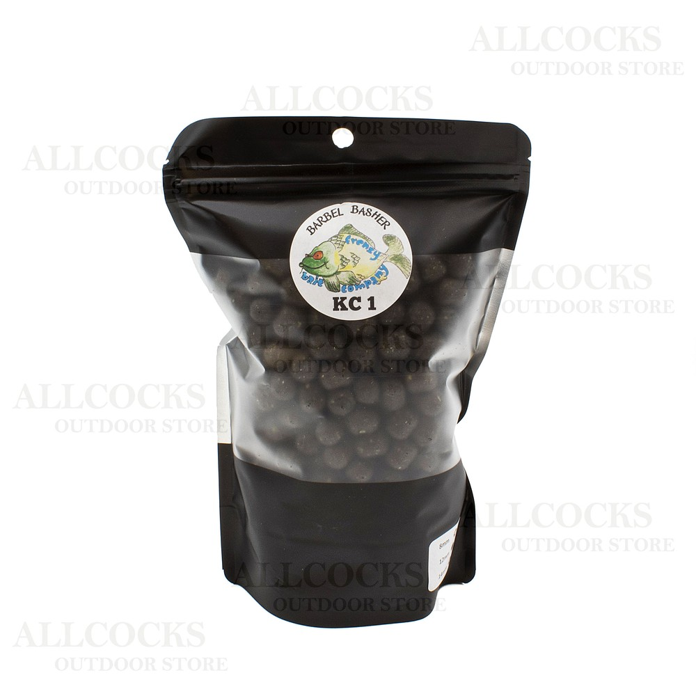 Frenzy Bait Company Dumbell Pellets - KC1 Flavour Black