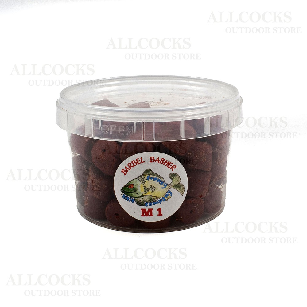 Frenzy Bait Company Pre-Drilled Pellets - M1 Flavour Red