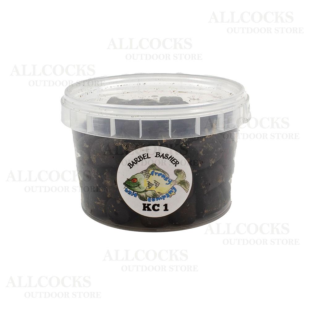 Frenzy Bait Company Pre-Drlled Pellets - KC1 Flavour Black