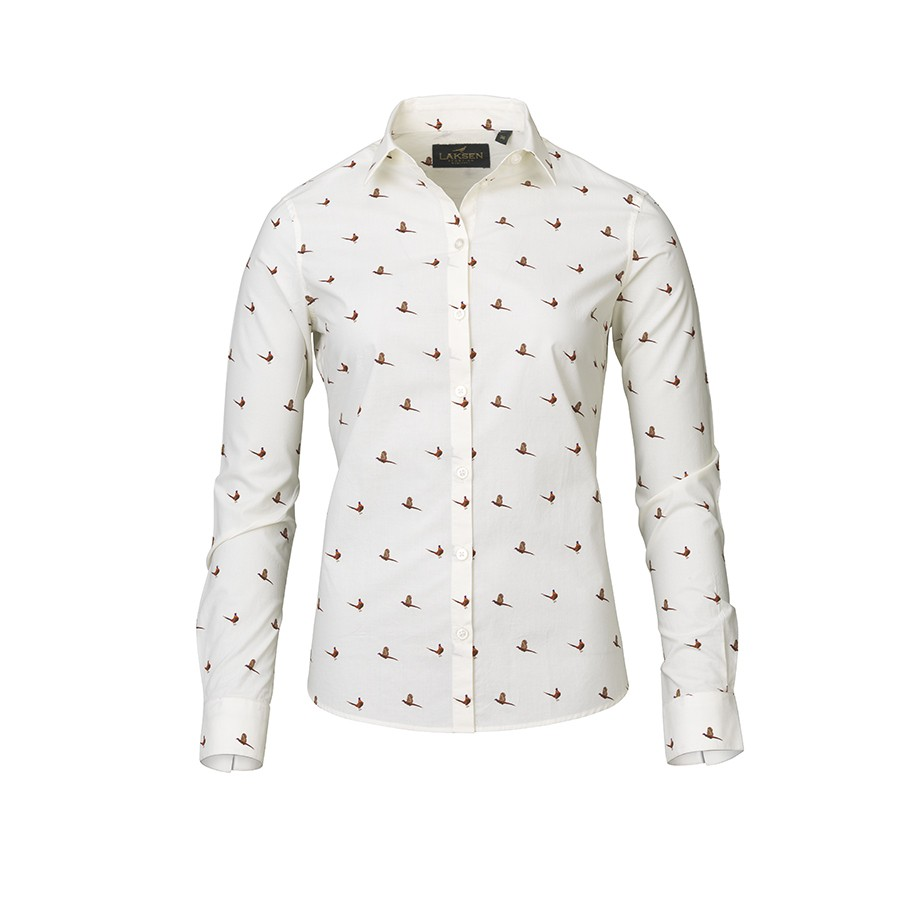 Laksen Laksen Flush Ladies Cream Shirt