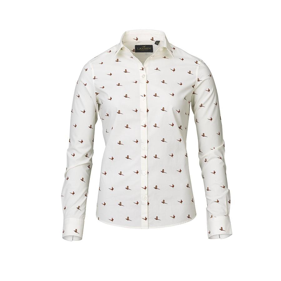 Laksen Flush Ladies Cream Shirt