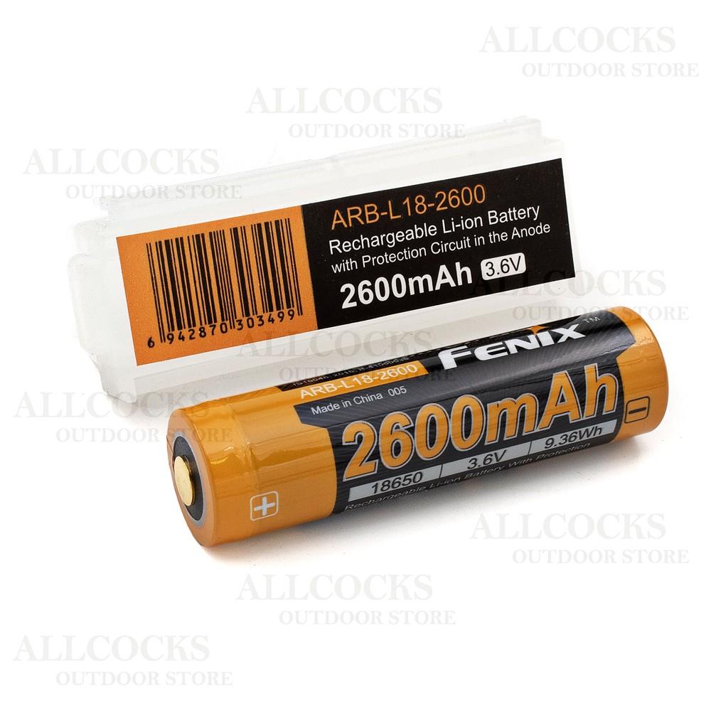 Fenix ARB-L18-2600 18650 Battery
