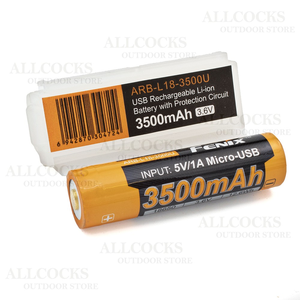 Fenix ARB-L18-3500U USB 18650 Battery