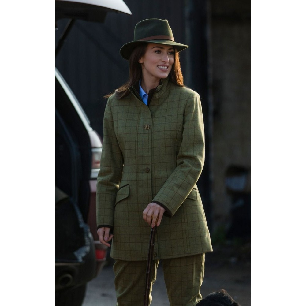 Alan Paine Ladies Combrook Field Coat Aspen
