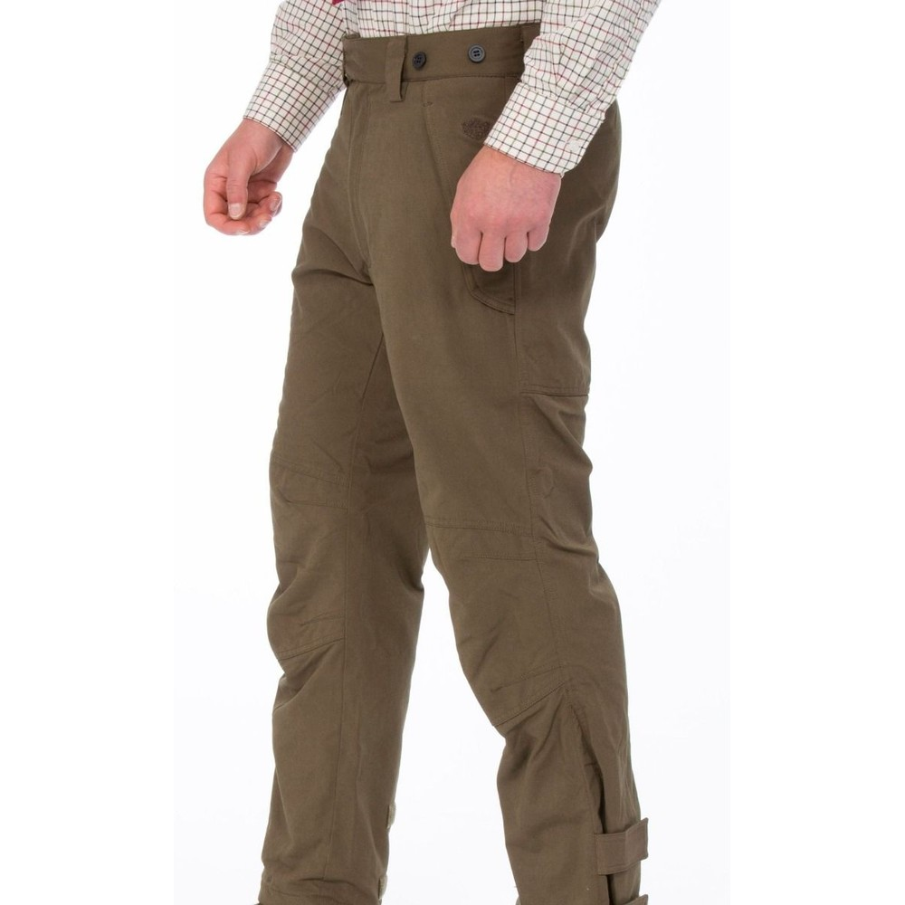 Alan Paine Dunswell Waterproof Trousers Olive