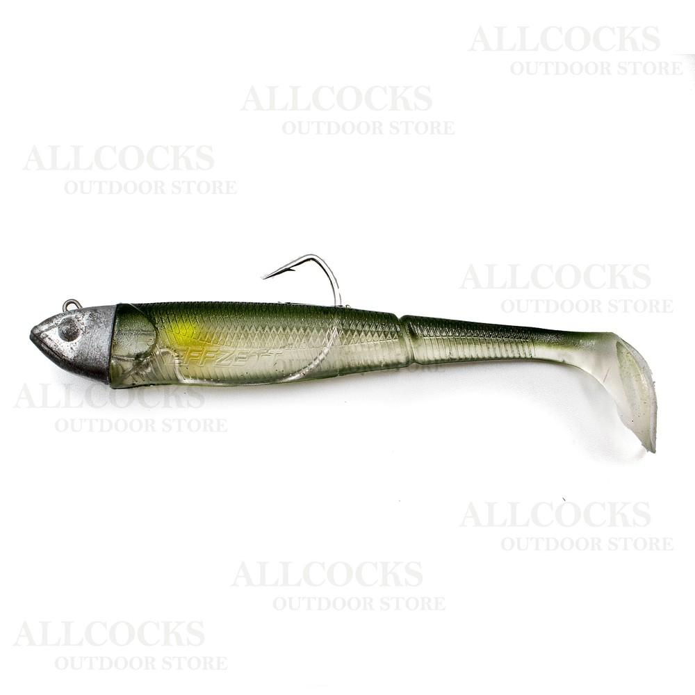 DAM Effzett Kick-S Minnow Weedless Paddle Tail Lure Ayu