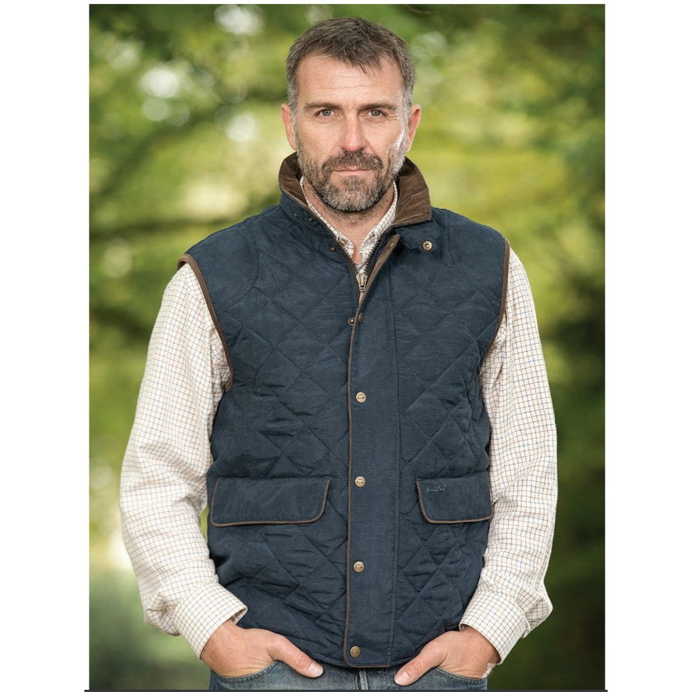 Baleno York Men's Quilted Gilet