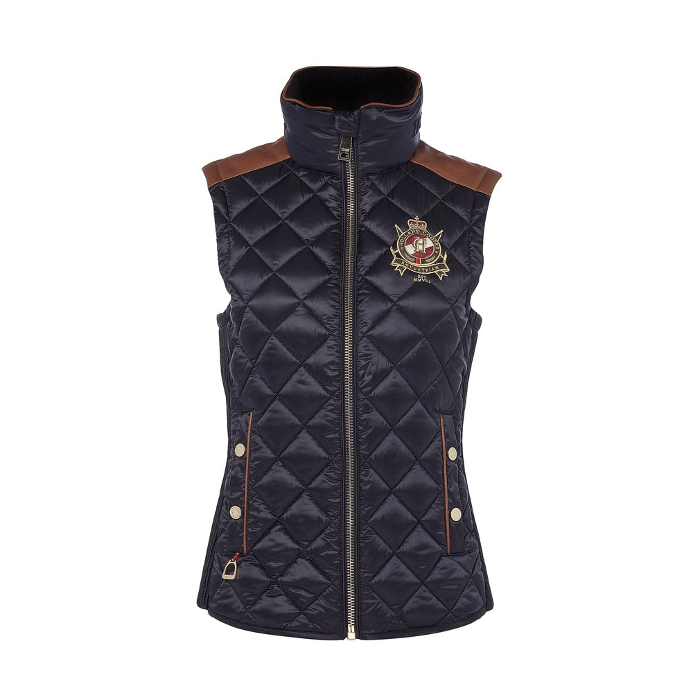 Holland Cooper Diamond Quilt Gilet