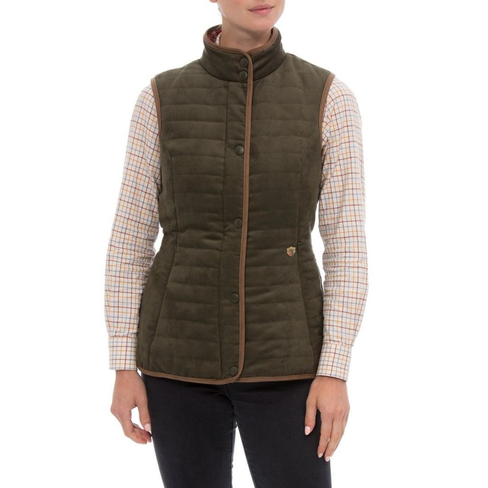 Alan Paine Alan Paine Felwell Ladies Quilted Waistcoat