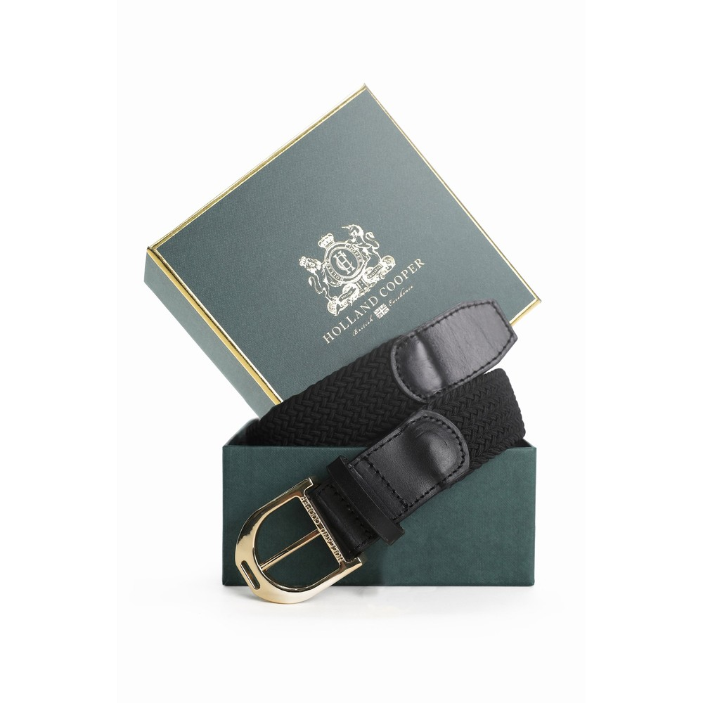 Holland Cooper Stirrup Belt Black