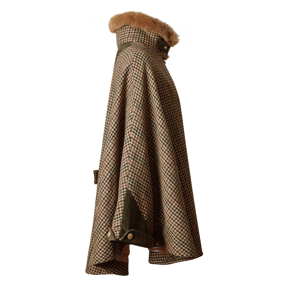 Holland Cooper Chiltern Cape Hailes Green Tweed