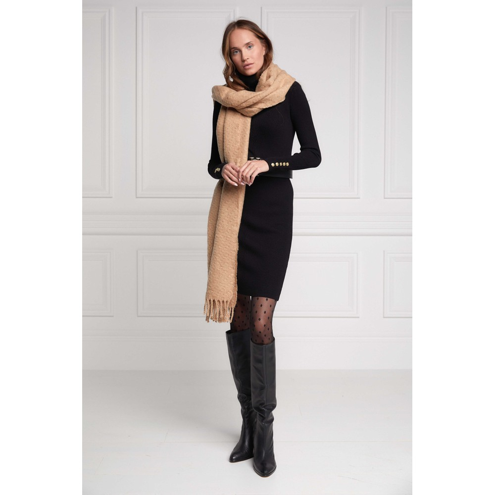 Holland Cooper Chelsea Scarf Camel