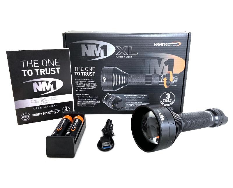 Night Master NM1 XL Gun Torch Kit Black