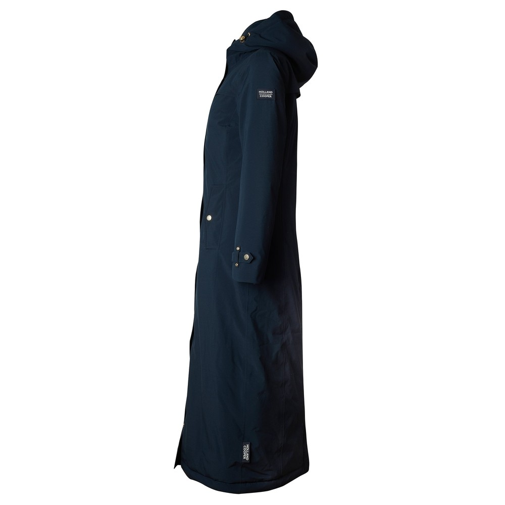 Holland Cooper Equi Longline Field Jacket Ink Navy