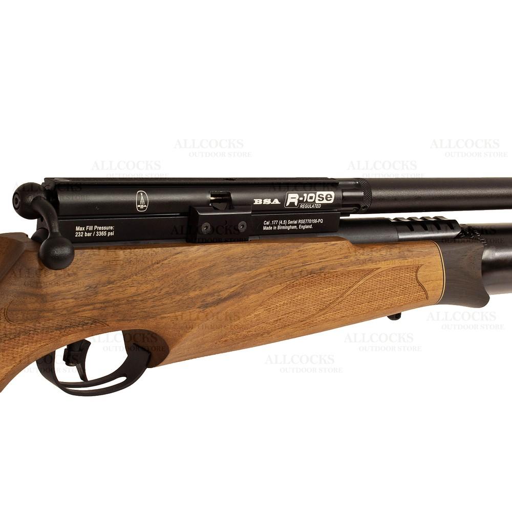 BSA R10 SE Super Carbine Air Rifle Walnut