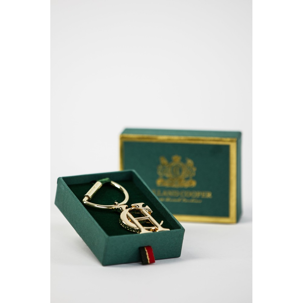 Holland Cooper Keyring Gold
