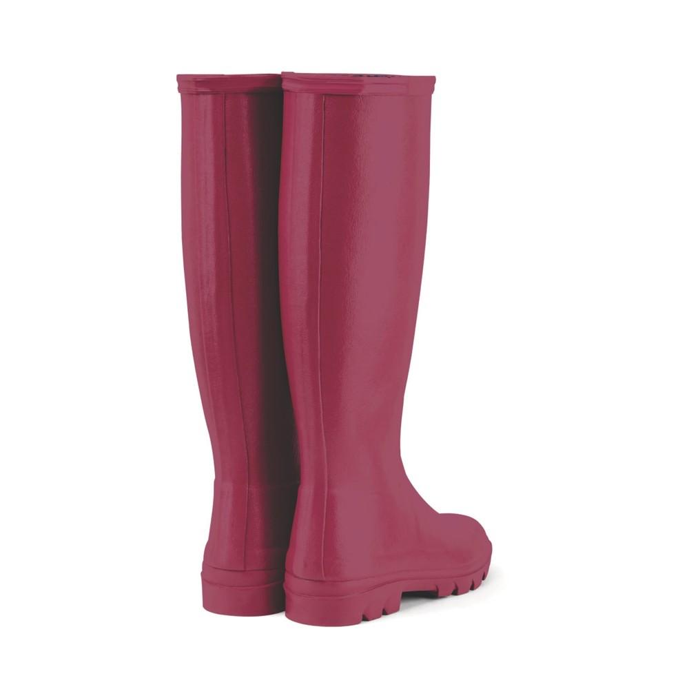 Le Chameau Iris Jersey Lined Women's Wellington Boots Rose