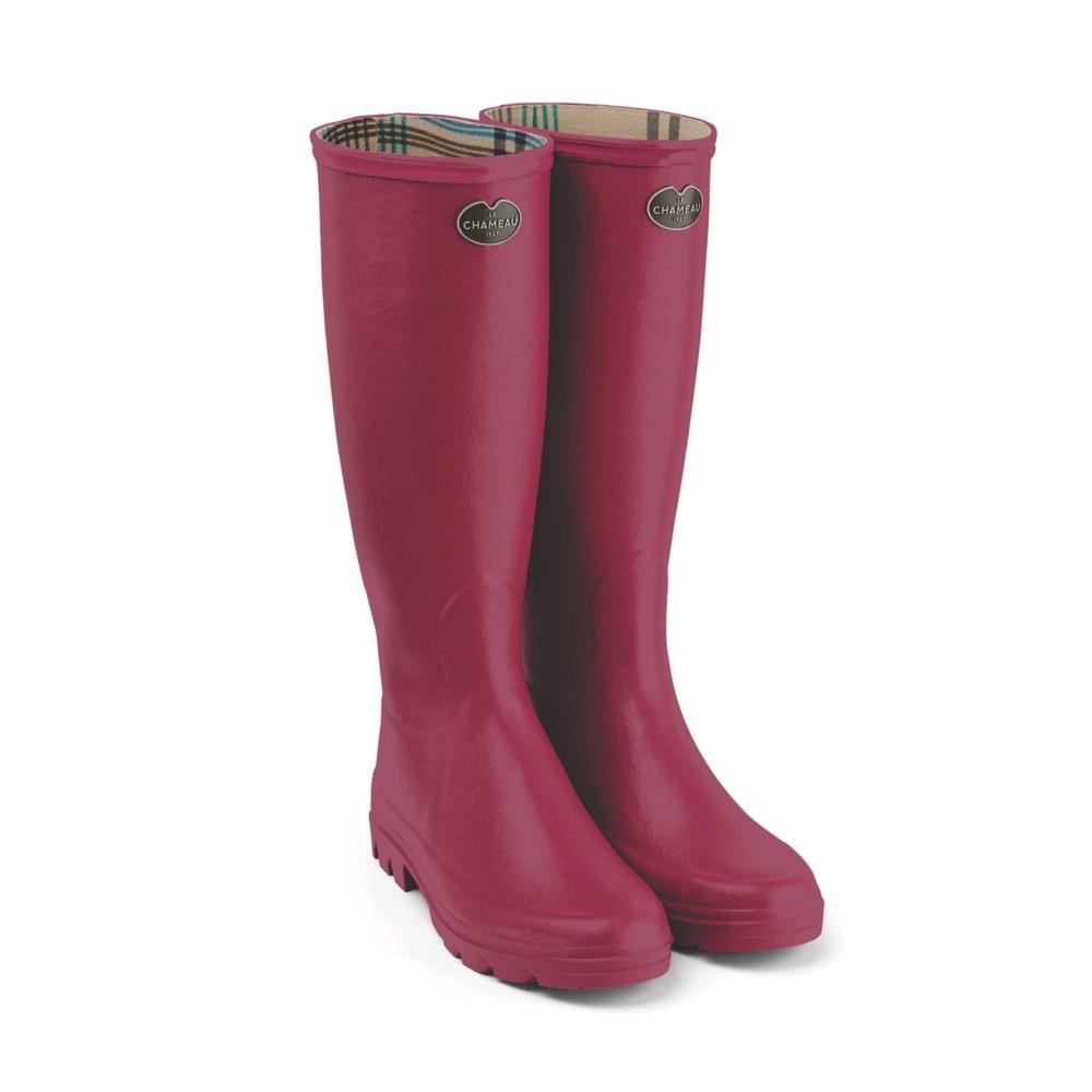 Le Chameau Le Chameau Iris Jersey Lined Women's Wellington Boots