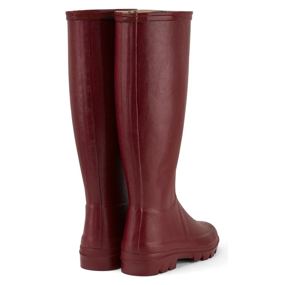 Le Chameau Iris Jersey Lined Women's Wellington Boots Rouge