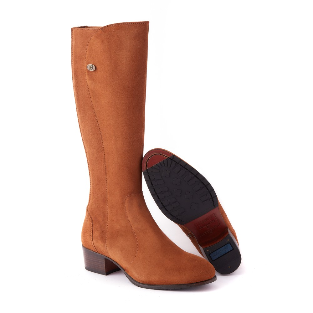 Dubarry Downpatrick Knee High Boots Camel
