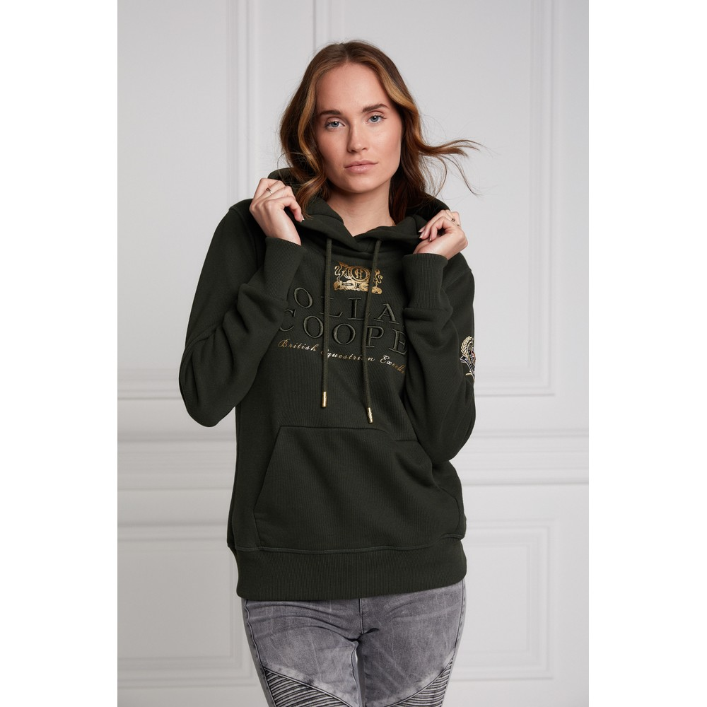 Holland Cooper Classic Hoodie Racing Green