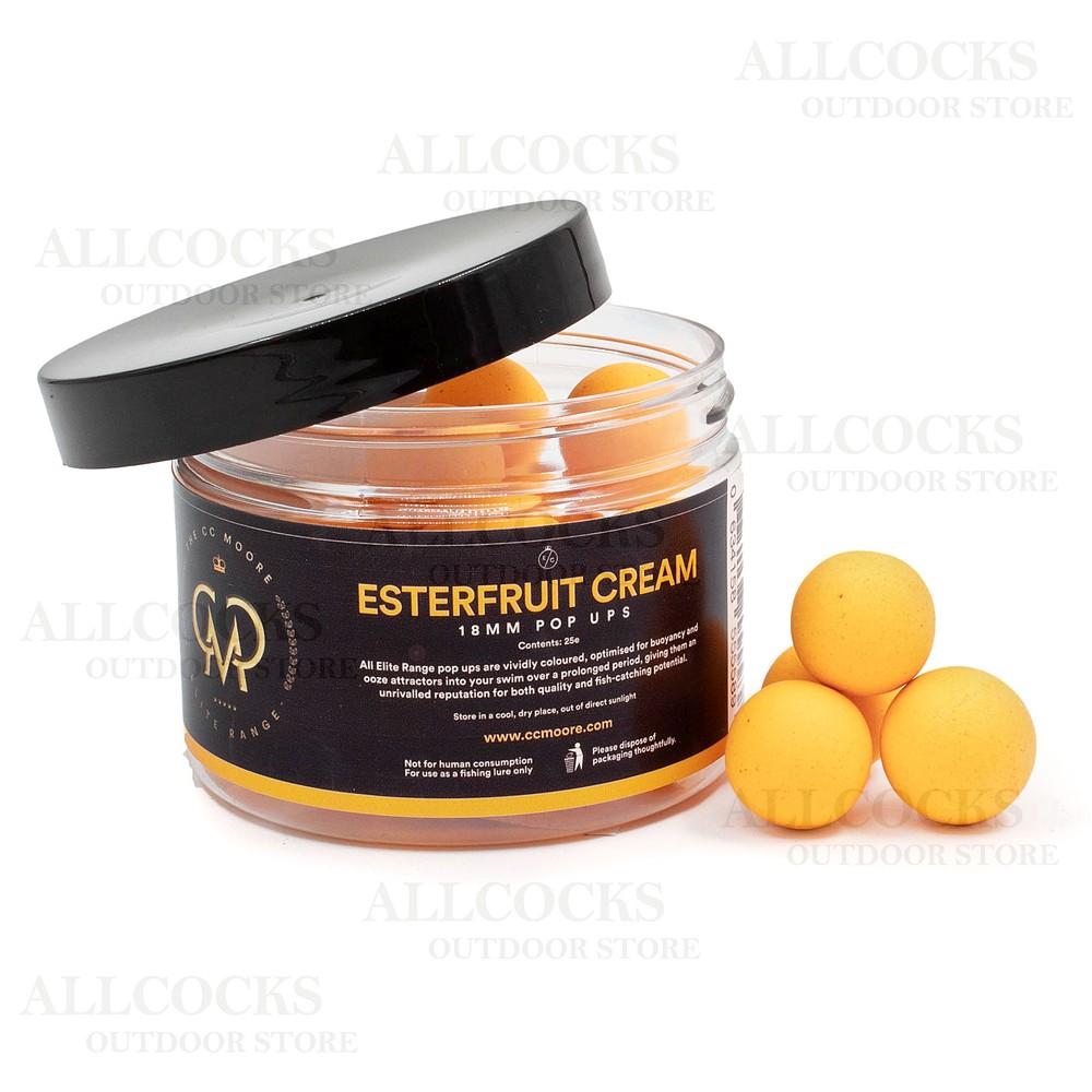 CC Moore Esterfruit Cream Pop Ups Orange