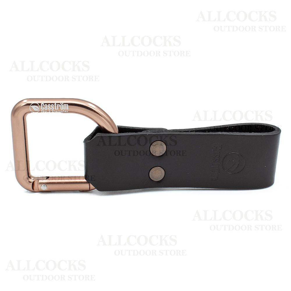 Casstrom No.3 Dangler With Leather Loop Black