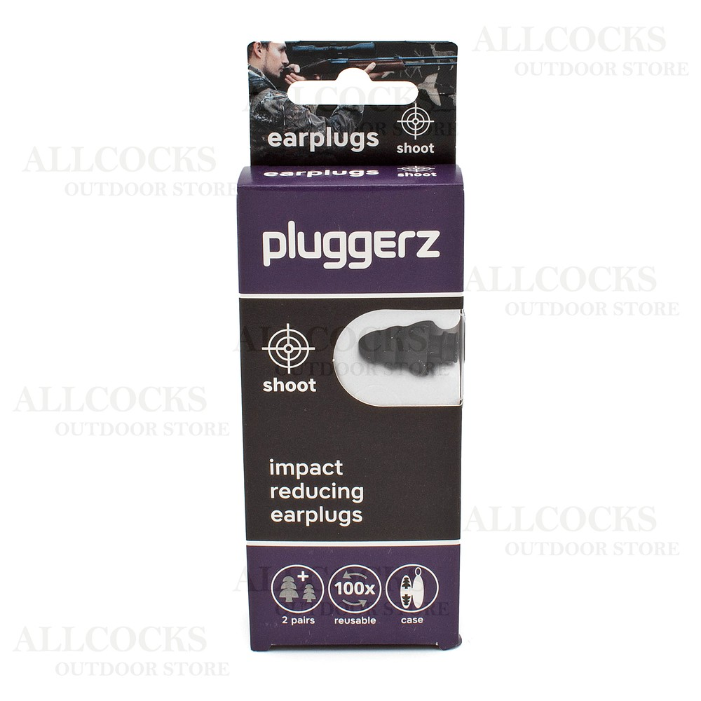 Pluggerz Shoot Ear Plugs Black