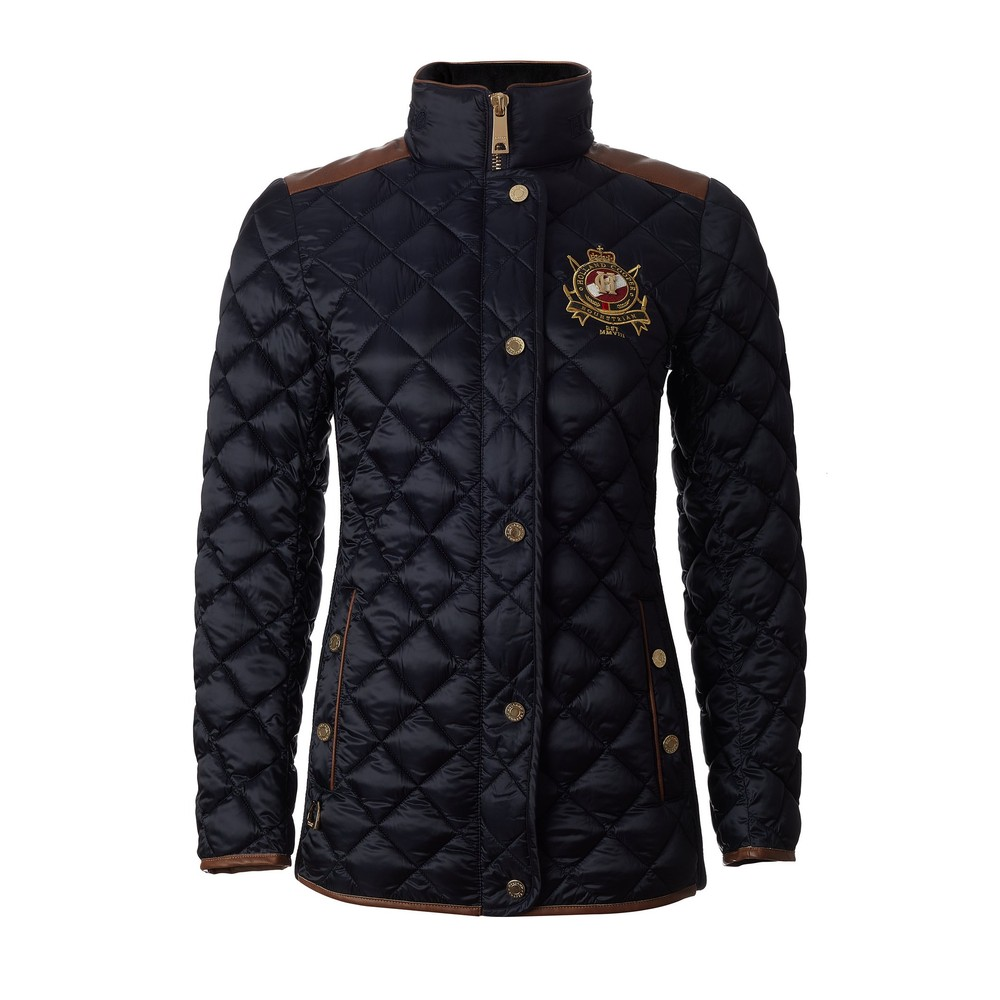 Holland Cooper Diamond Quilt Jacket