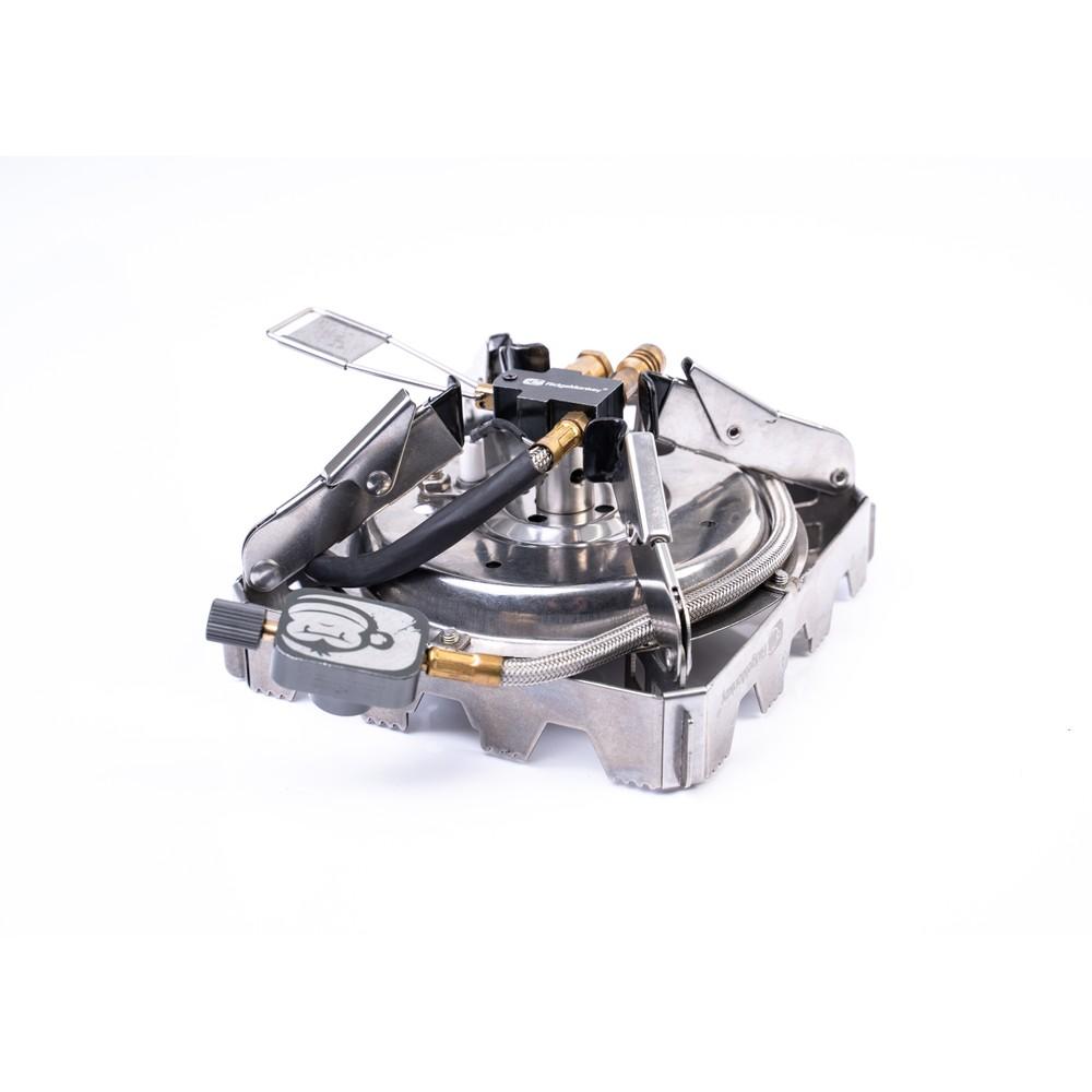 RidgeMonkey Quad Connect Pro Full Kit Stainless