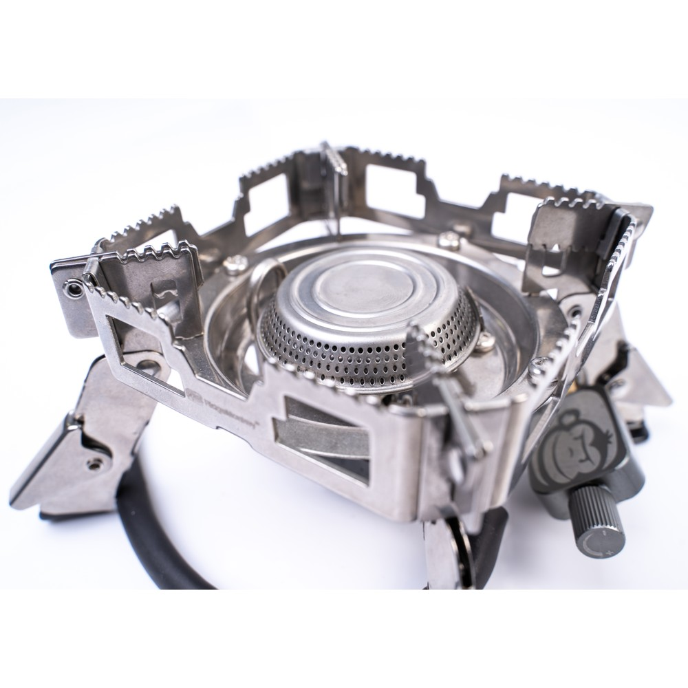 RidgeMonkey Quad Stove Pro Mini Stainless