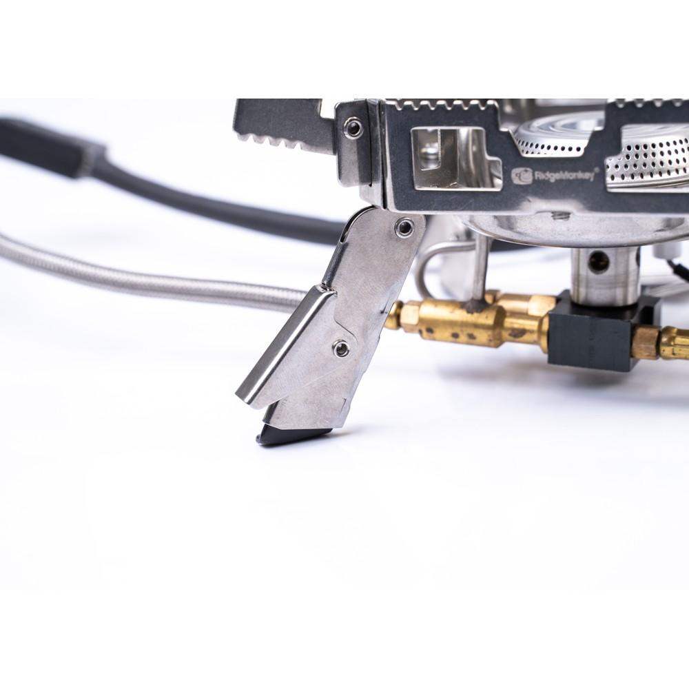 RidgeMonkey Quad Connect Pro Mini Full Kit Stainless