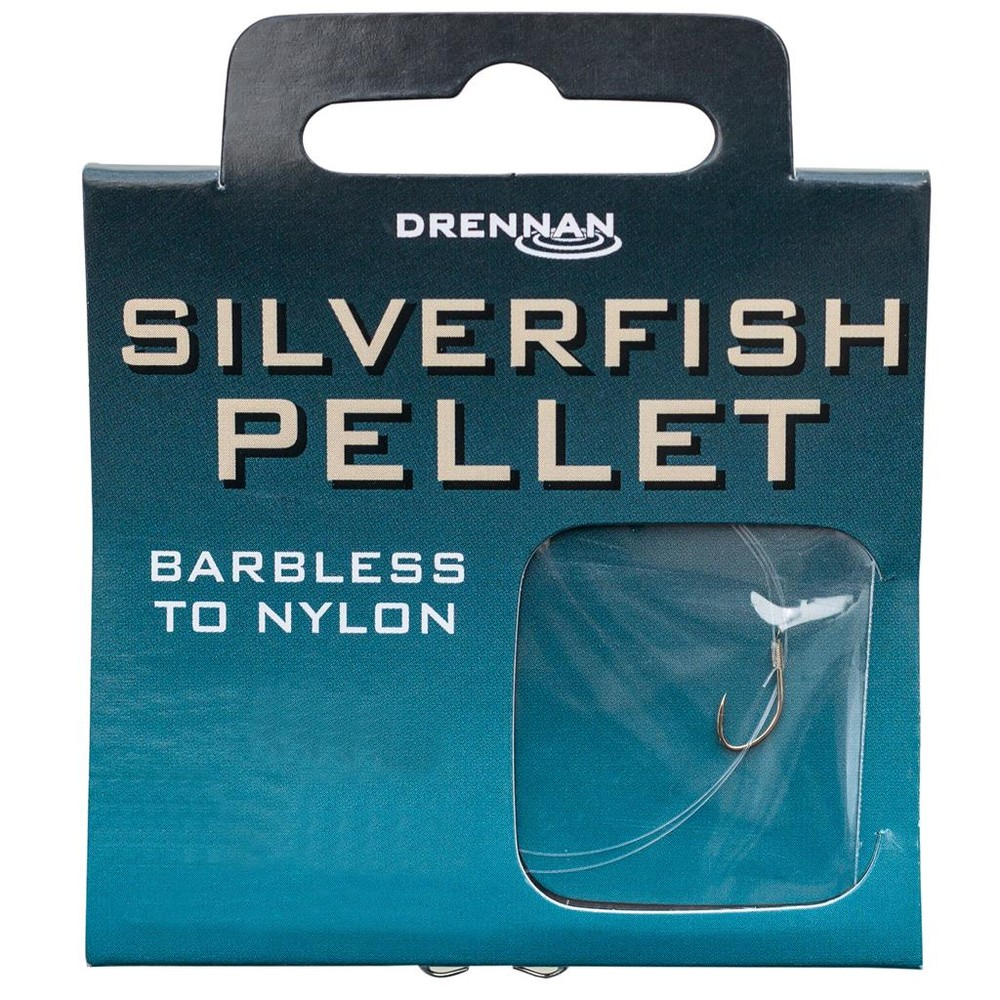 Drennan Hook To Nylon - Silverfish Pellet