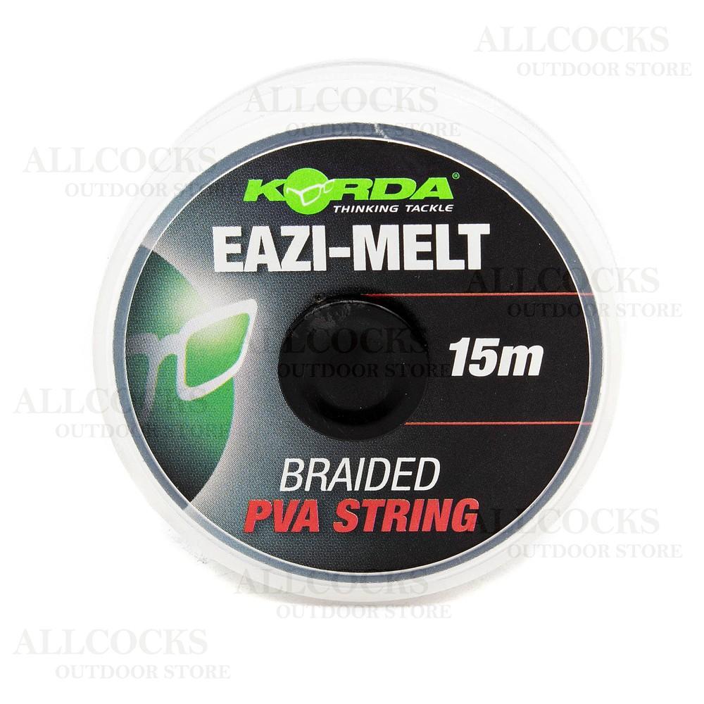 Korda Eazi-Melt Total Dissolve PVA String - 15 Metres